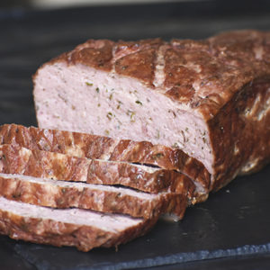 PORK MEATLOAF WITH ROSEMARY & THYME
